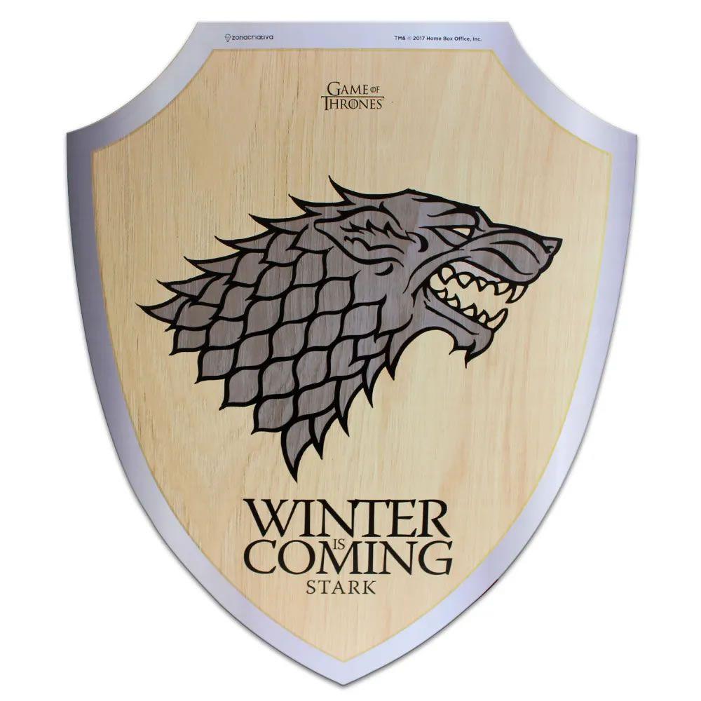 Placa Escudo Stark