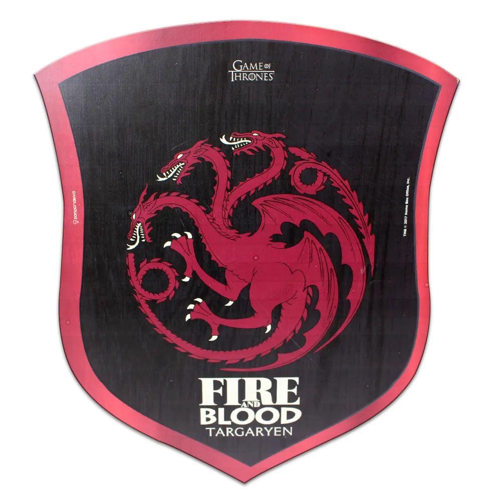 Placa Escudo Targaryen