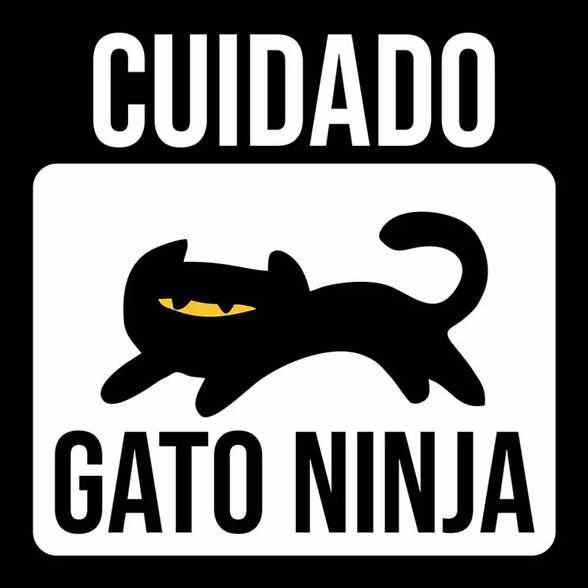 Placa Gato Ninja