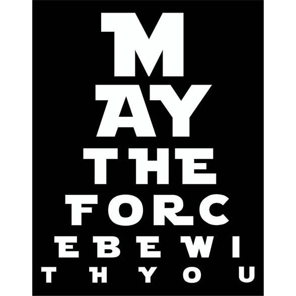 Placa May The Force