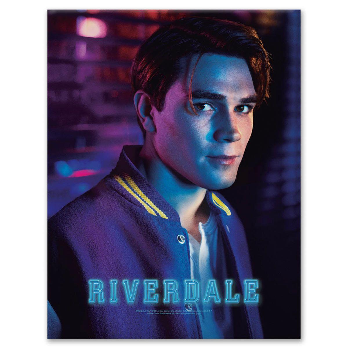 Placa Metal Riverdale Archie Andrews