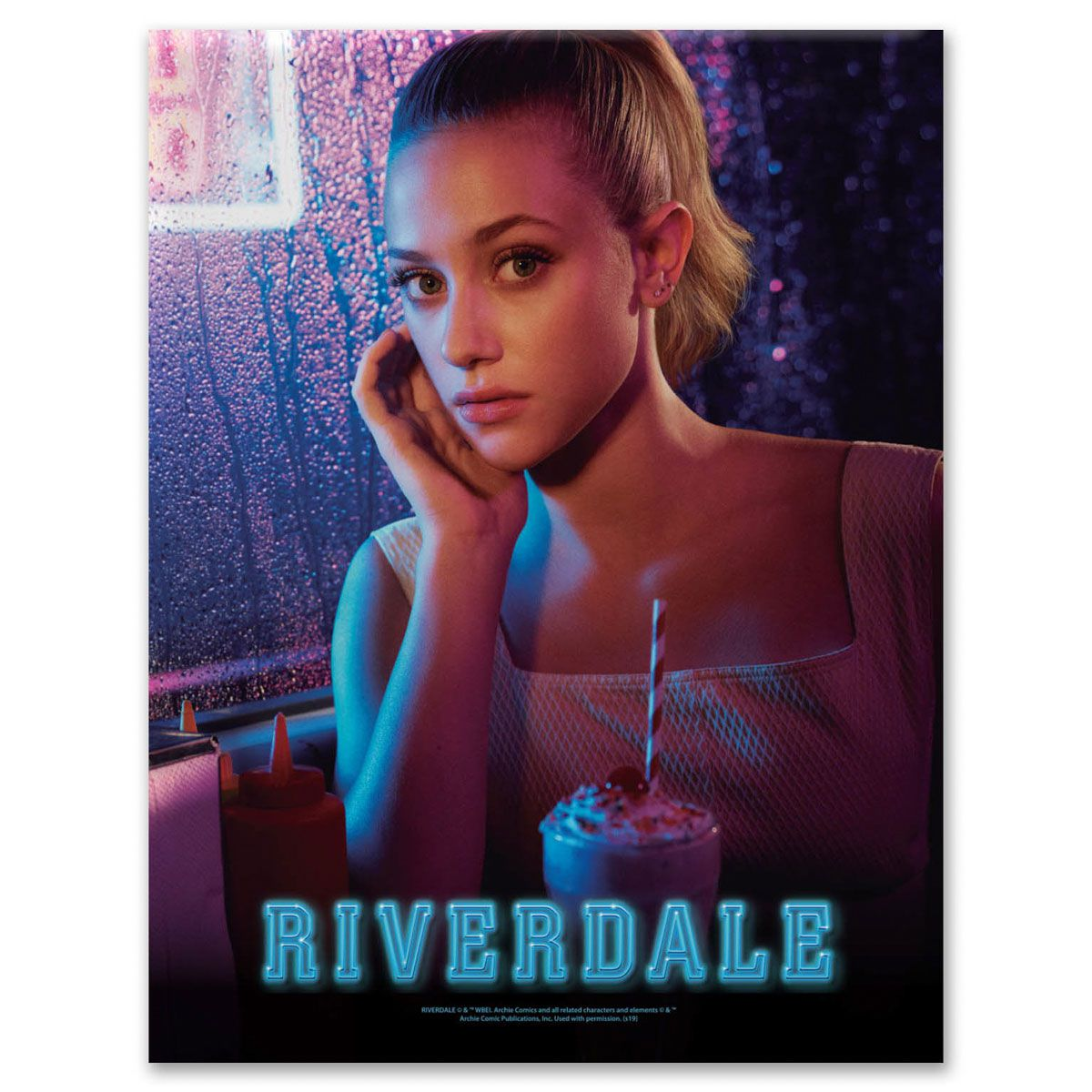 Placa Metal Riverdale Betty
