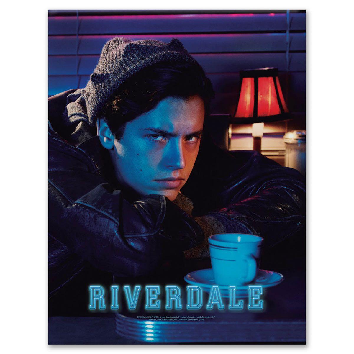 Placa Metal Riverdale Jughead