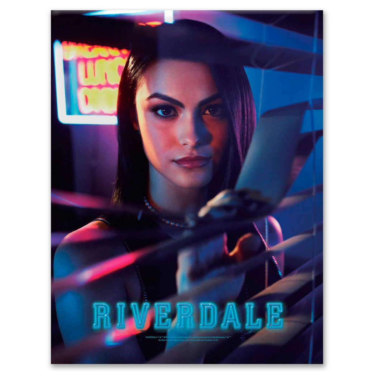 Placa Metal Riverdale Veronica