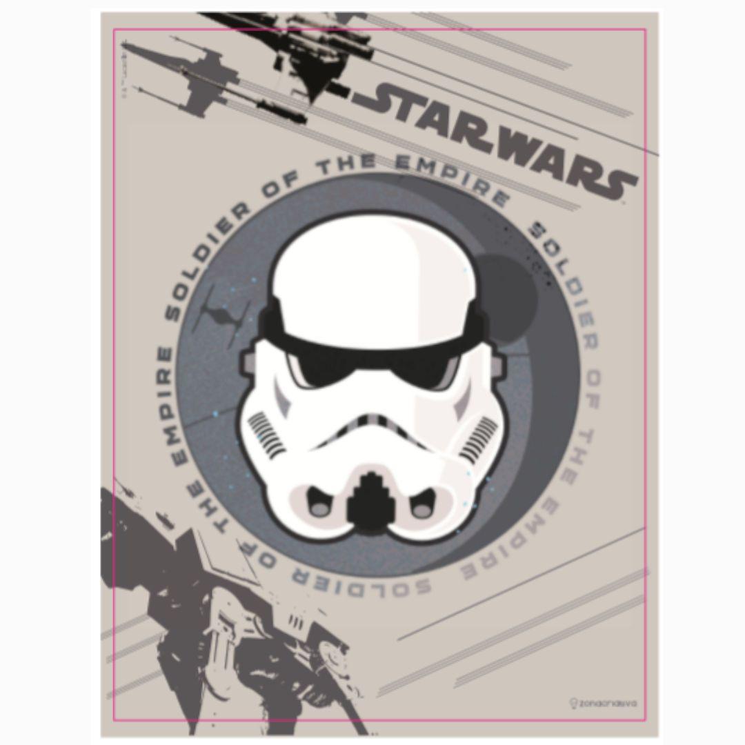 Placa Metal Stormtrooper Star Wars
