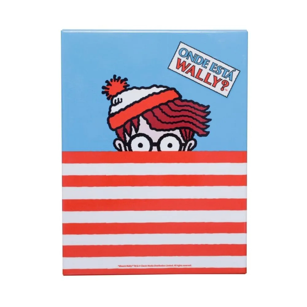PLACA METAL UVL WALLY WHERE IS WALLY SHIRT COLORIDO