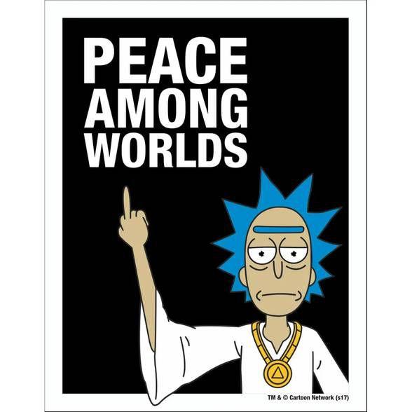 Placa Peace Among Worlds