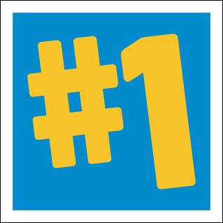 Placa primeiro lugar #1