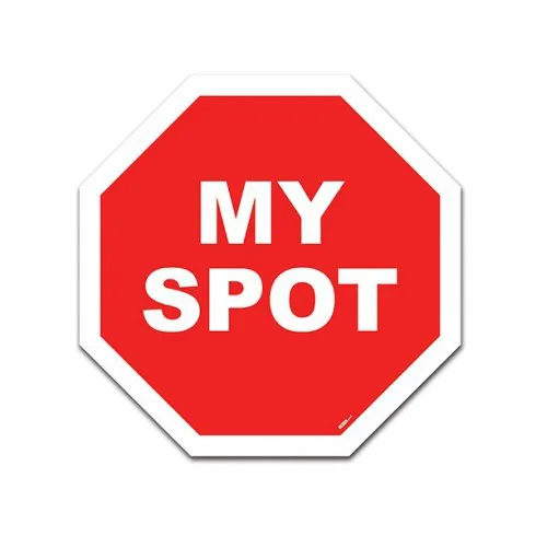 Placa Trânsito My Spot