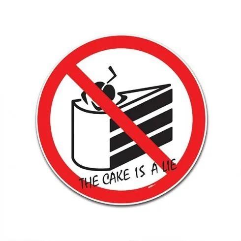 Placa Trânsito Não tem bolo