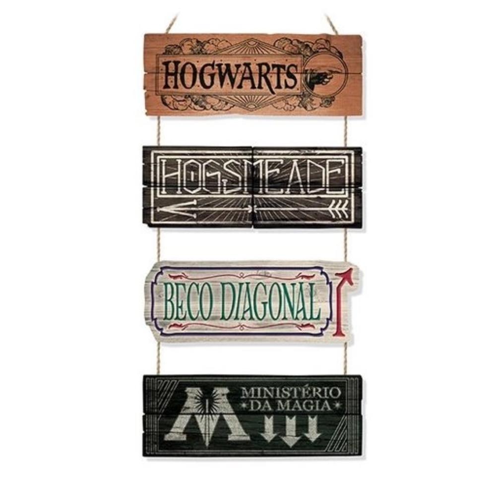 Placas Harry Potter - Lugares Mágicos