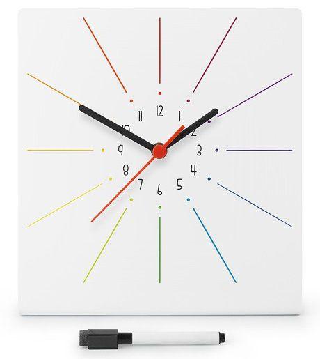 Planner com Relógio Cores