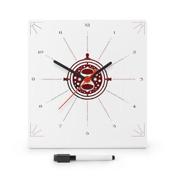 Planner com Relógio Vira Tempo