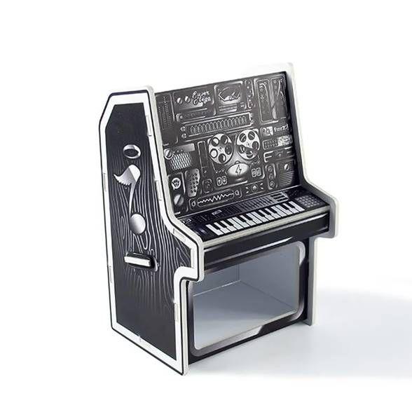 Porta Canetas e Clips Piano DJ Studio
