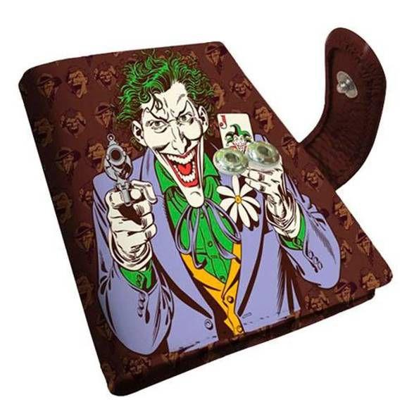 Porta Cartão Coringa Joker Marrom
