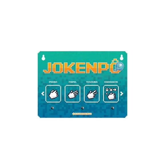 Porta Chave Jokenpo
