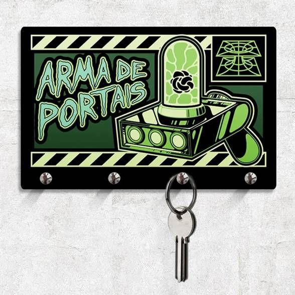 Porta Chaves Arma de Portais
