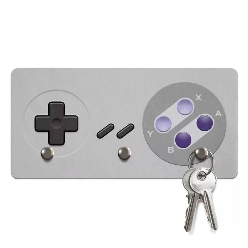 Porta Chaves Ecológico Gamer Joystick 16-bits