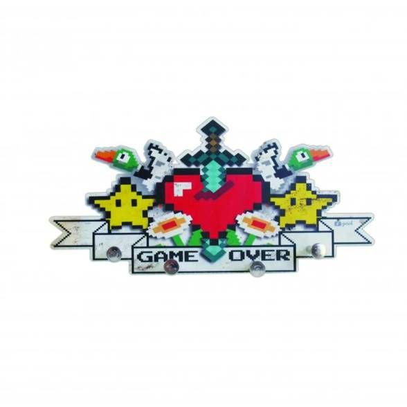 Porta Chaves Games 8-Bits
