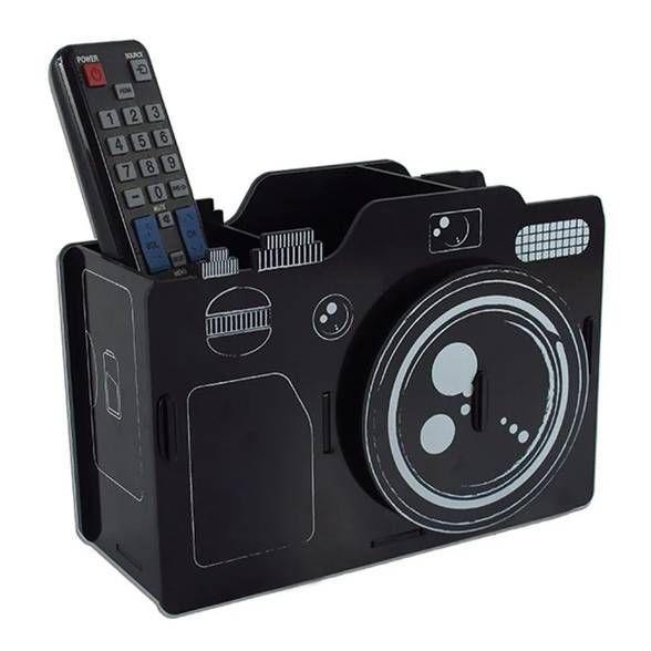 Porta Controle e Retrato Câmera Fotográfica
