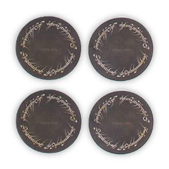 Porta Copos Anél (4 peças)