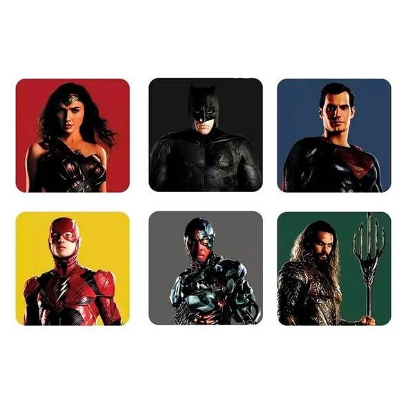 Porta copos Liga da Justiça Movie