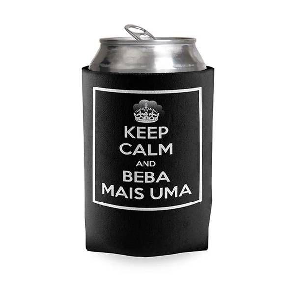 Porta Lata Keep Calm Bebe Mais Uma