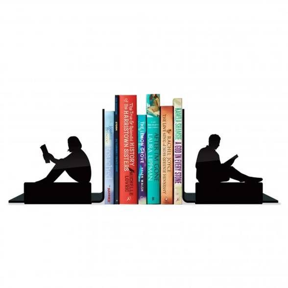 Porta Livros Adultos Lendo