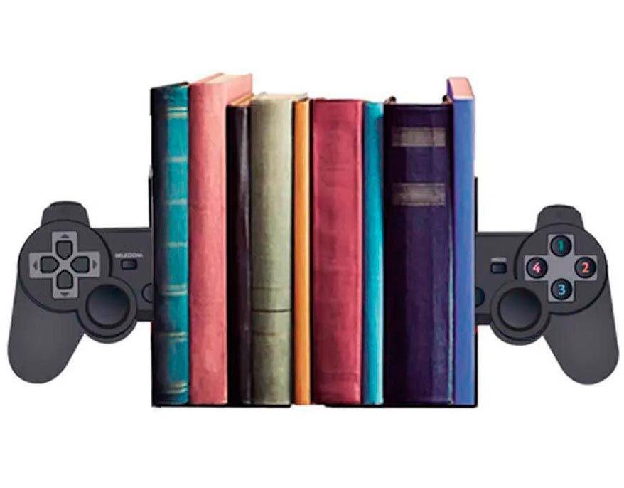 Porta Livros Controle de Video Game