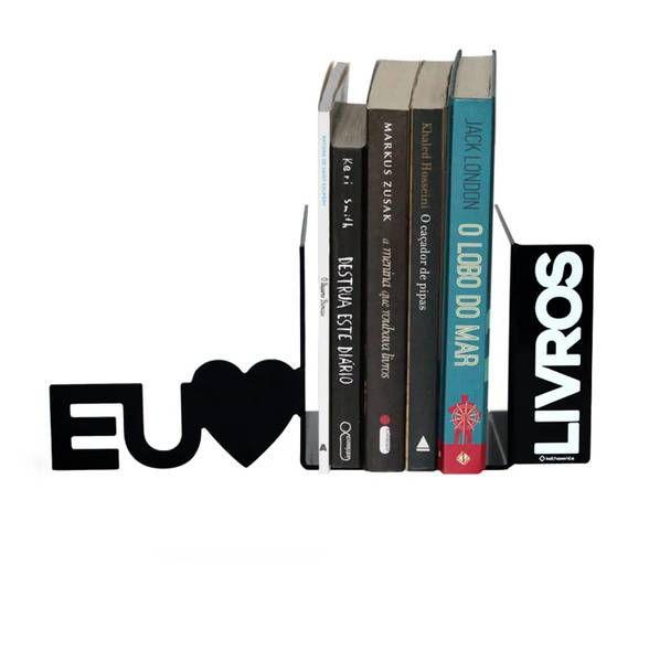 Porta Livros eu Amo Livros