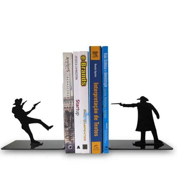 Porta Livros Faroeste