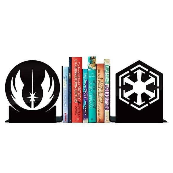 Porta Livros Jedis Vs Sith