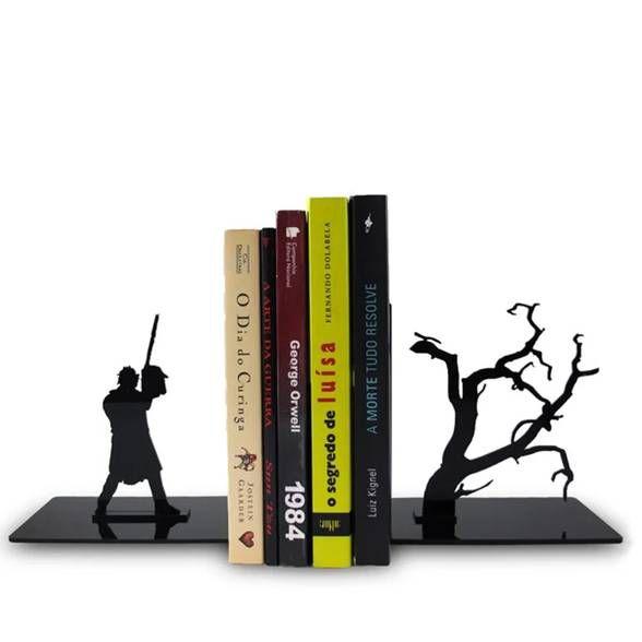 Porta Livros Terror