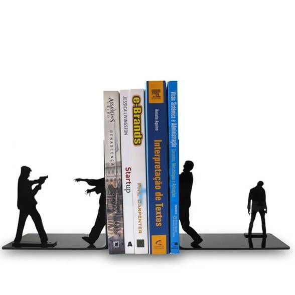 Porta Livros Zumbilândia
