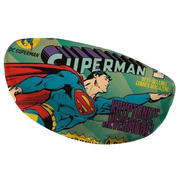 Porta Óculos Superman Flying Azul