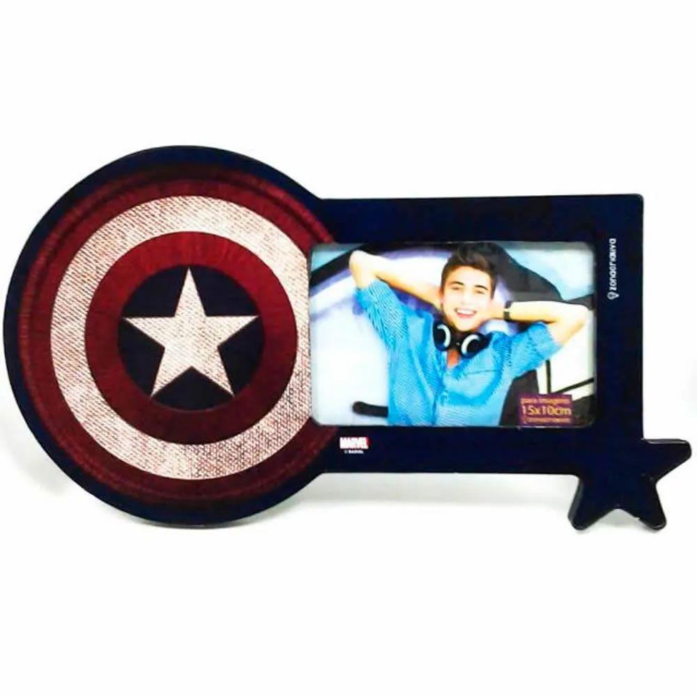 Porta Retrato Escudo do Capitão América