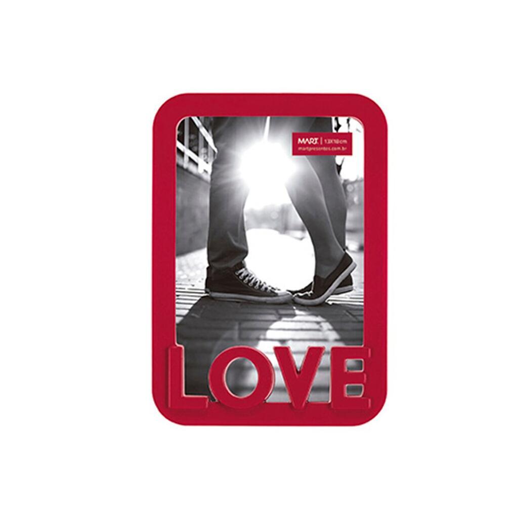 Porta Retrato Love - Vermelho