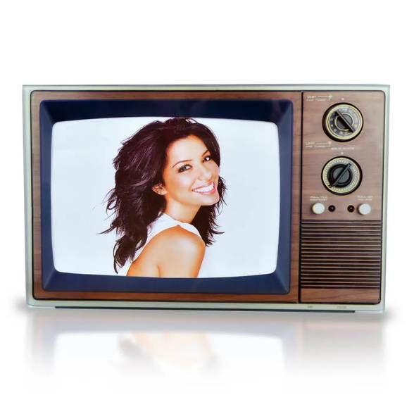 Porta Retrato Televisão retrô