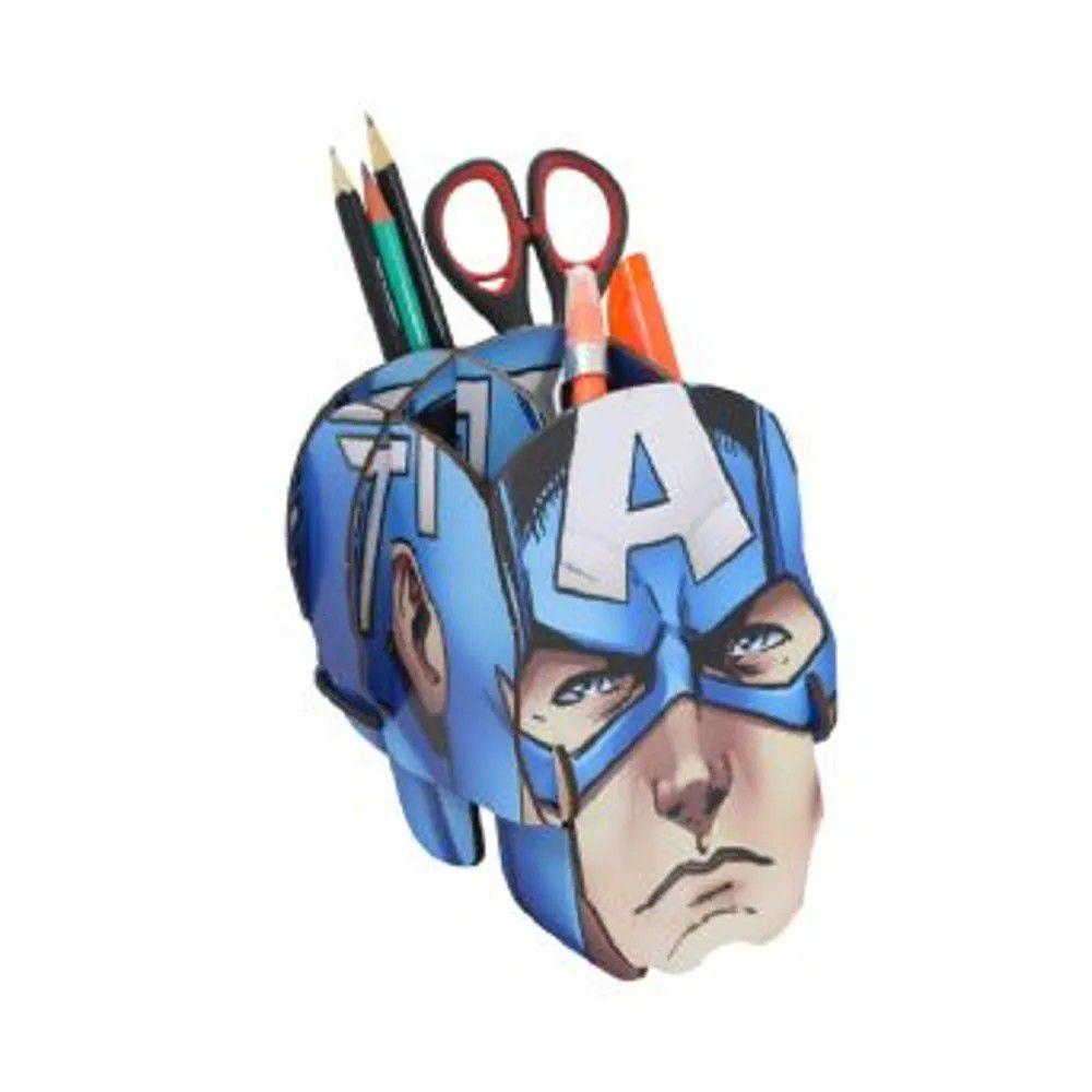 Porta Treco Capitão América Marvel