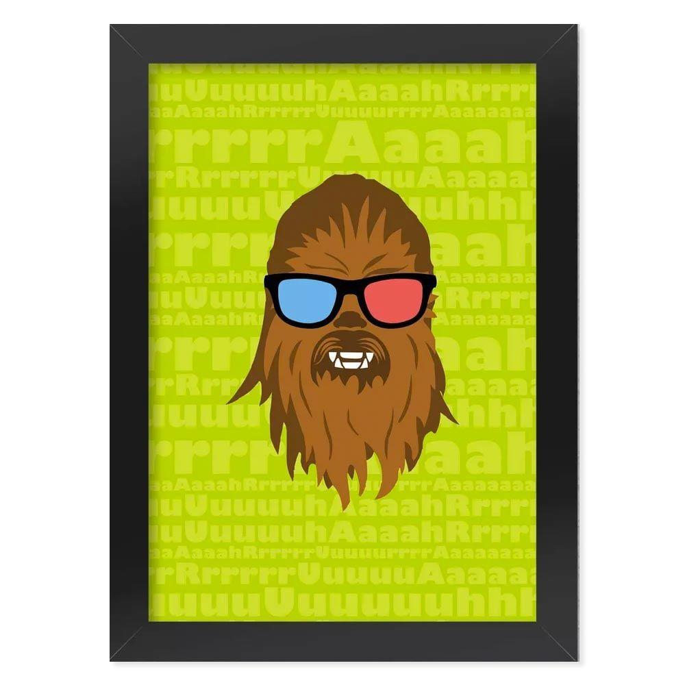Pôster com Moldura Geek Side - Bacca