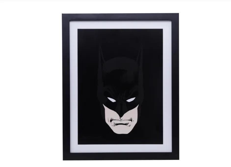 Quadro Batman Dark Acrílico/Madeira