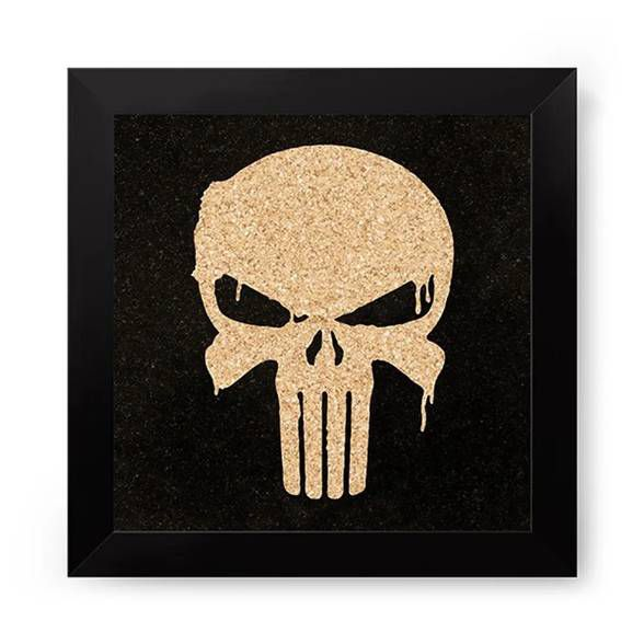 Quadro com Moldura Punisher