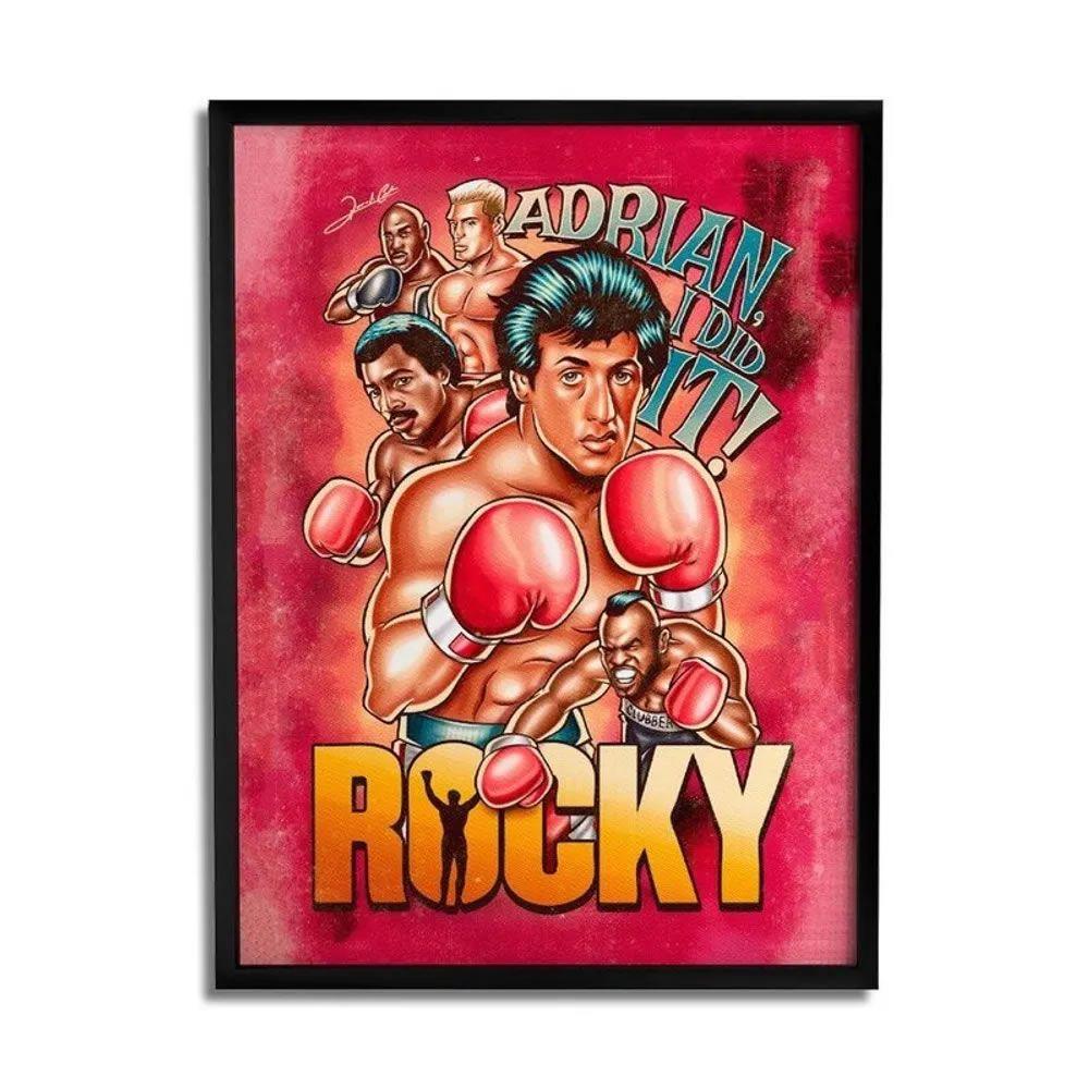 Quadro Decorativo Rocky