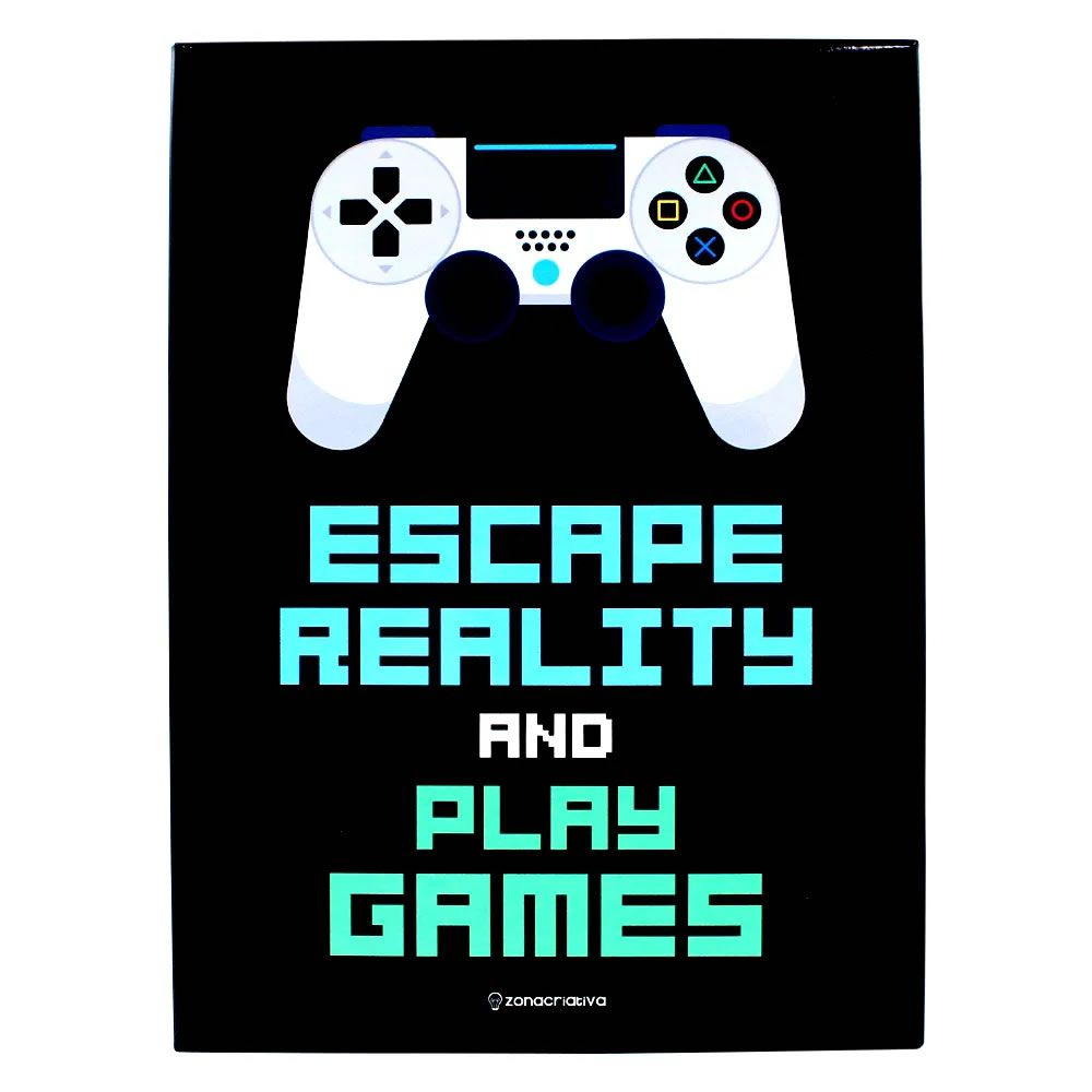 Quadro em Metal Escape Reality And Play Games