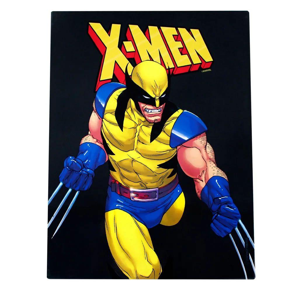 Quadro em Metal X-men Wolverine