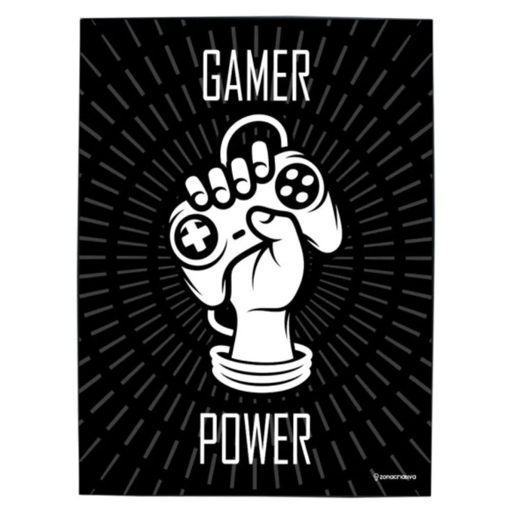 QUADRO METAL GAMER POWER