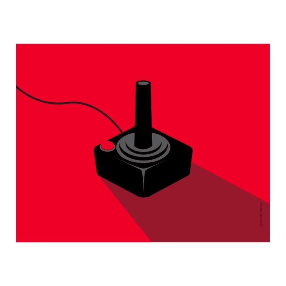 QUADRO METAL 26X20CM GAMES CLASSICOS 1