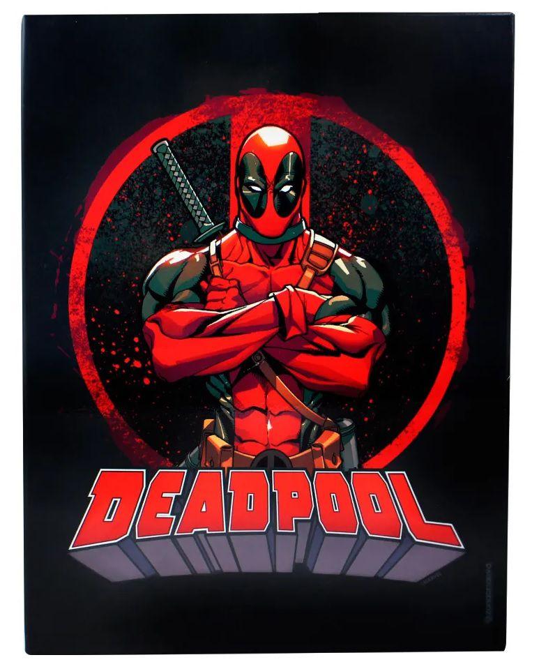 Quadro Metal Deadpool