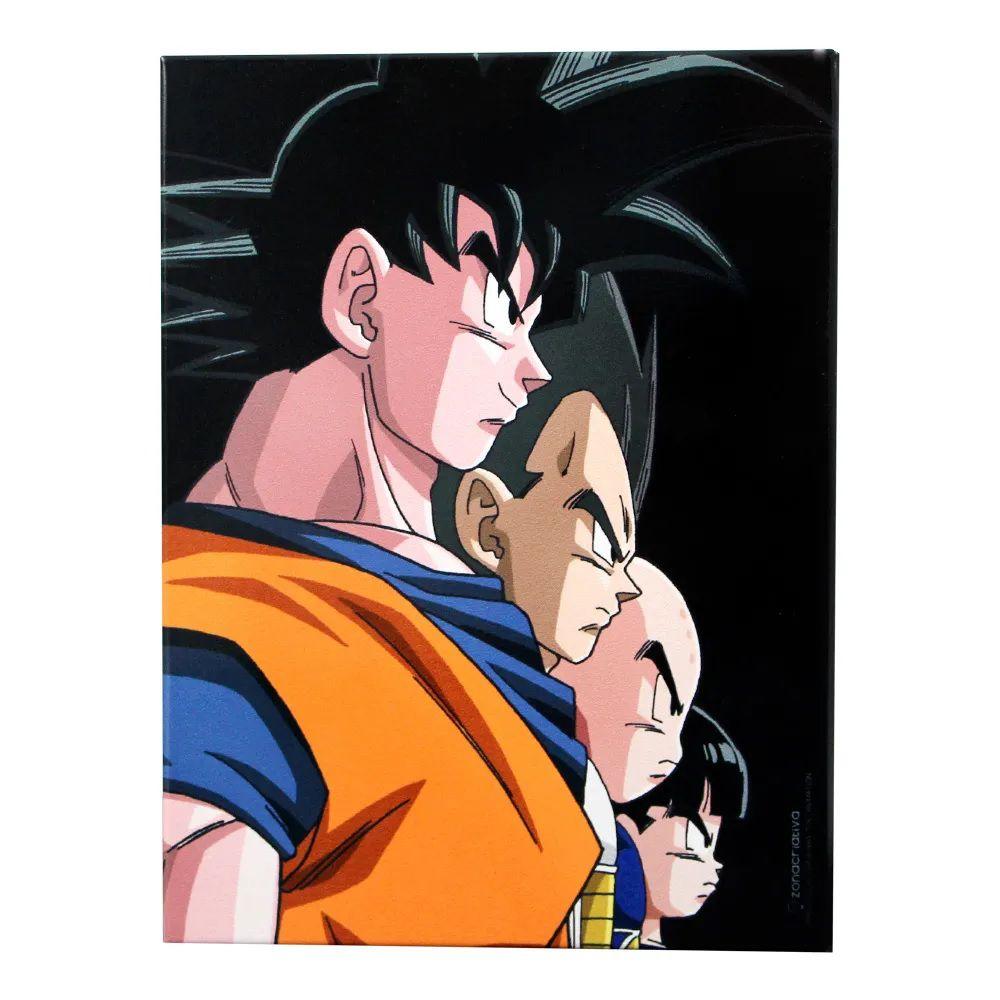 Quadro Goku e Vegeta Metal Dragon ball 2