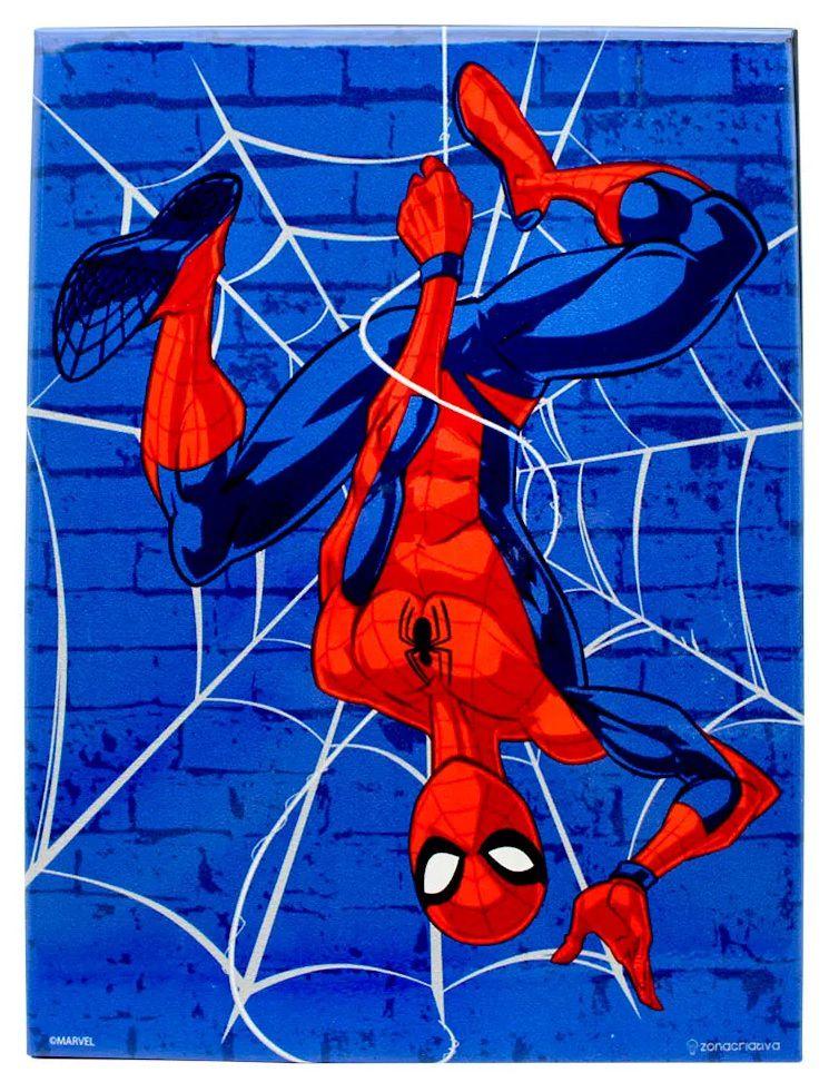 Quadro Metal Homem Aranha